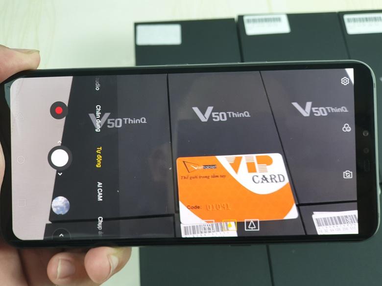 chụp ảnh LG V50 ThinQ 5G