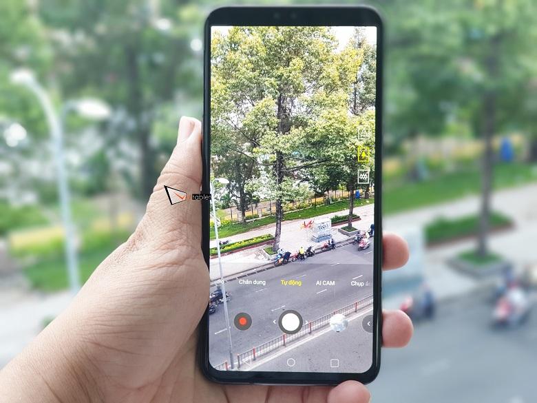 Chụp ảnh thử trên LG V50 ThinQ 5G xách tay