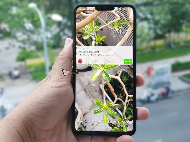 Màn hình hiển thị của LG V50 ThinQ 5G
