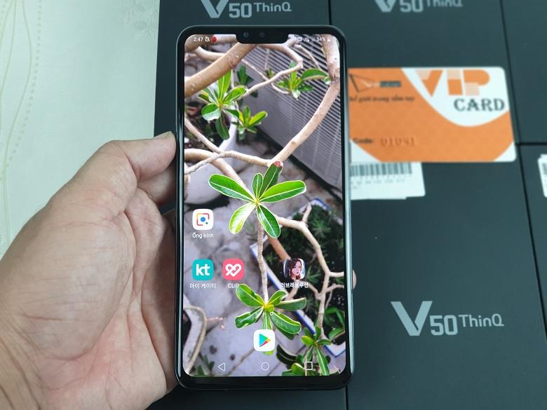 Màn hình LG V50 ThinQ 5G xách tay giá rẻ