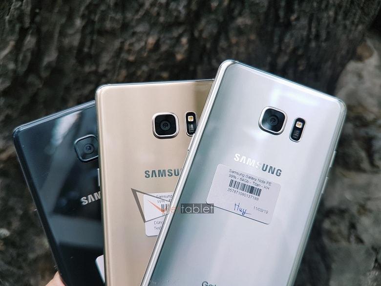 Camera Samsung Note FE