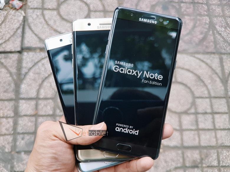 Cấu hình của Samsung Note FE giá rẻ