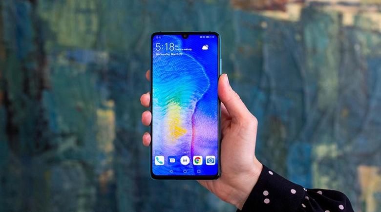 cấu hình của Huawei P30 chính hãng