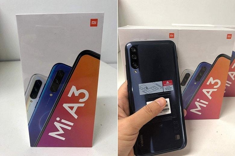 thiết kế Xiaomi Mi A3