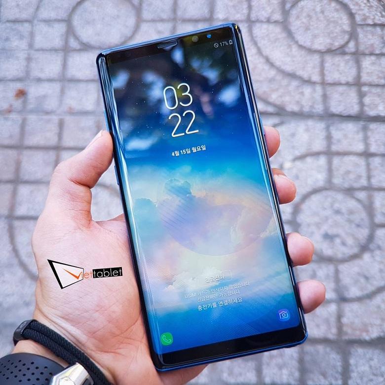 Samsung Galaxy Note 8 Hàn cũng có màn hình vô cực tỷ lệ 18:9