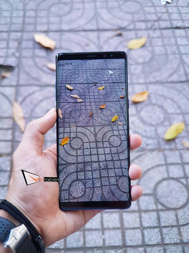 Giao diện chụp ảnh của Galaxy Note 8 Hàn 2 SIM