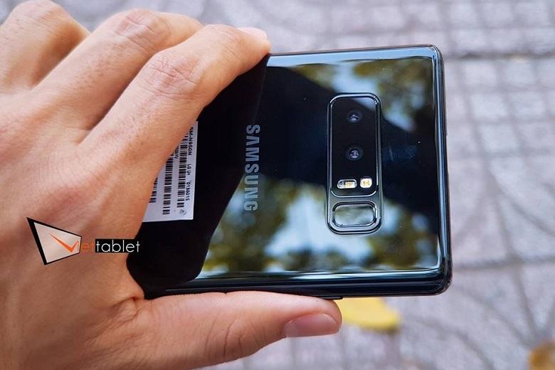 Camera Samsung Galaxy Note 8 Hàn có đèn dual-LED flash trợ sáng