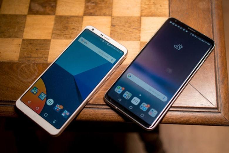 LG G6 và LG V30