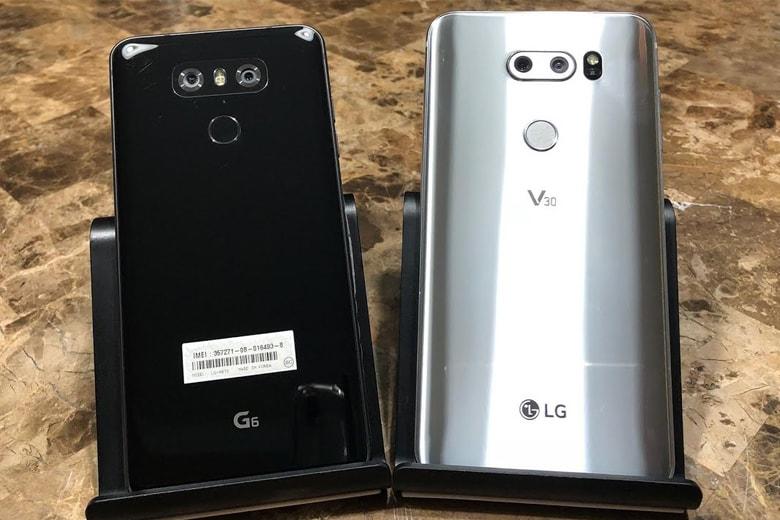 Bộ đôi LG G6 và LG V30