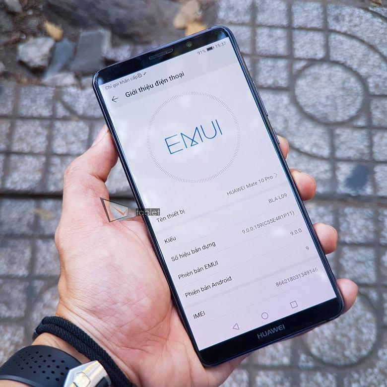 hiệu năng của Huawei Mate 10 Pro