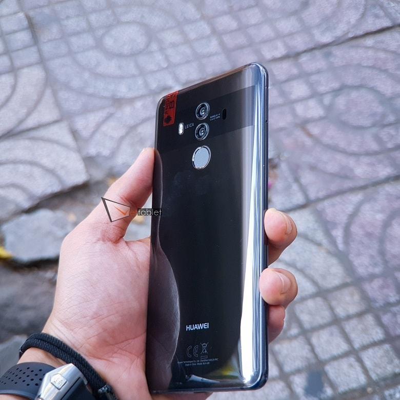 Hình ảnh kích thước Huawei Mate 10 Pro