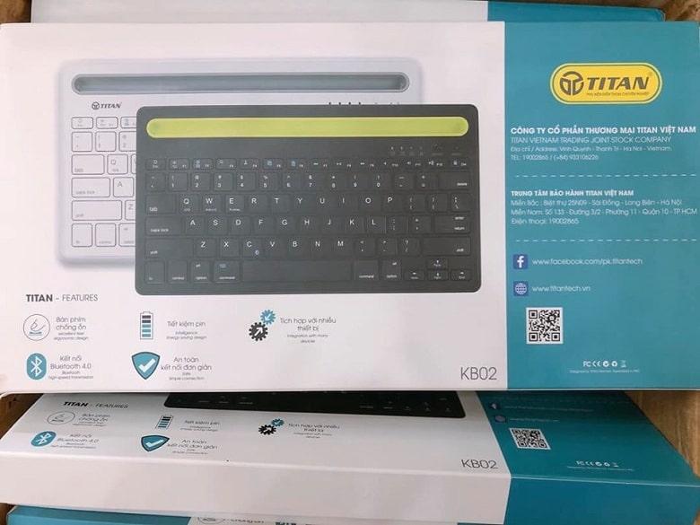 hộp đựng bàn phím không dây TITAN-KB02