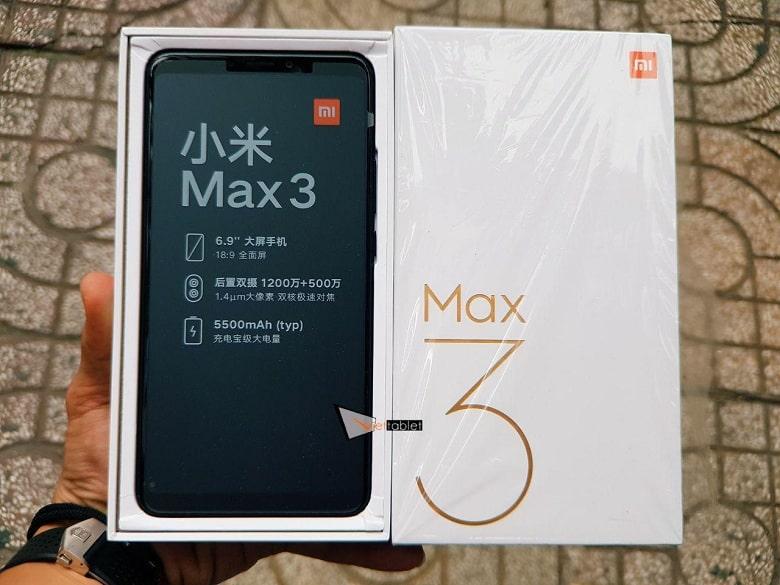 Mi Max 3 (4GB - 64GB) mới fullbox