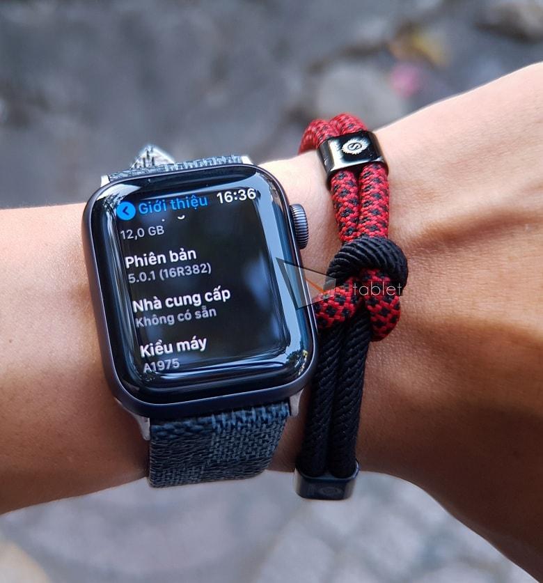 cấu hình Apple Watch Series 4