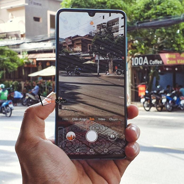 chụp thử trên Huawei P30