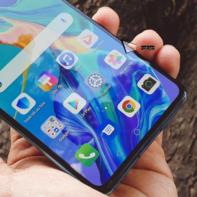 Huawei P30 có cảm biến vân tay dưới màn hình