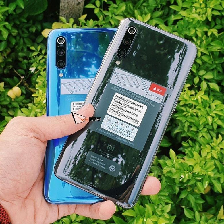 thiết kế Xiaomi Mi 9