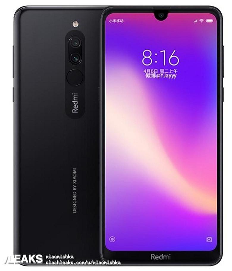 thiết kế Xiaomi Redmi Note 8 giá rẻ