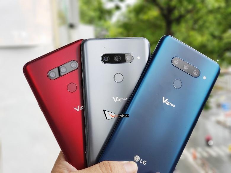 LG V40 ThinQ đủ màu