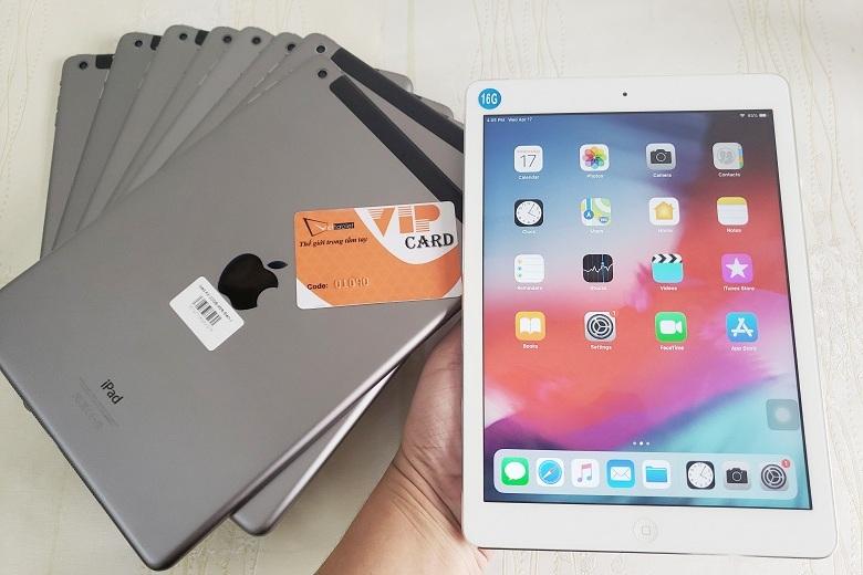 hiệu năng của iPad Air 4G