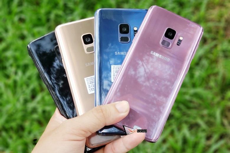 Samsung Galaxy S9 2 SIM đủ màu cập bến Viettablet