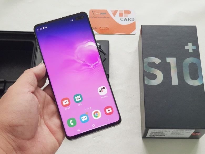 màn hình Samsung Galaxy S10+Mỹ