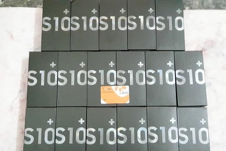 Samsung Galaxy S10 Plus Mỹ cập bến Viettablet