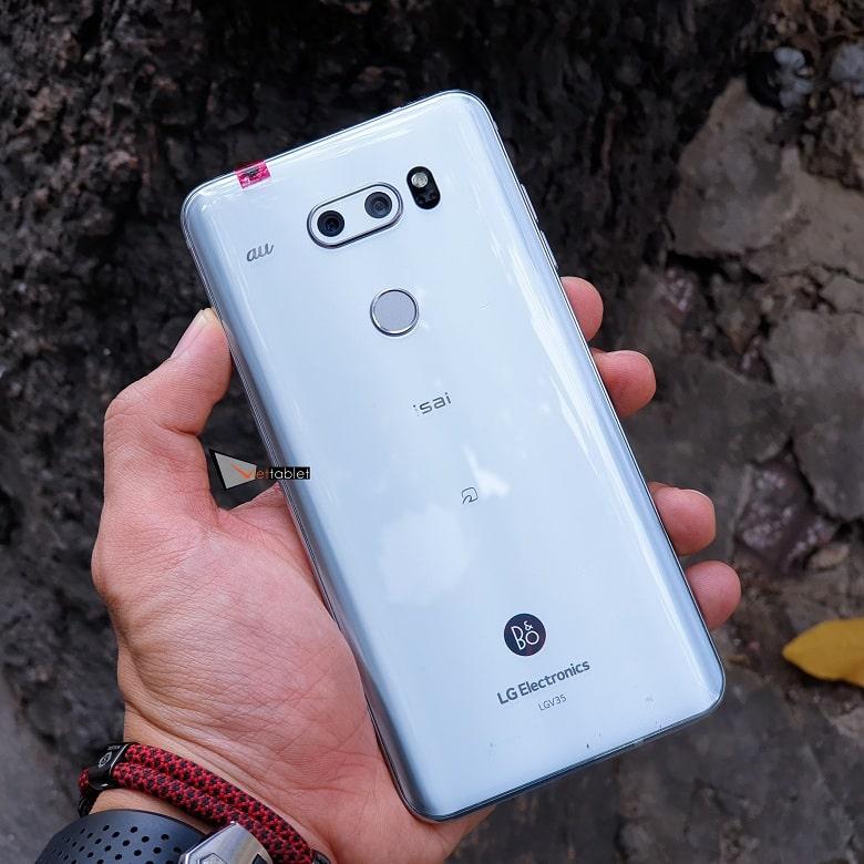 Hình ảnh LG V30 Plus màu trắng tại Viettablet