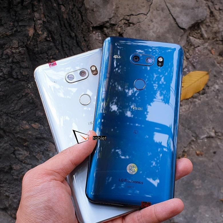 Hình ảnh trên tay LG V30 Plus