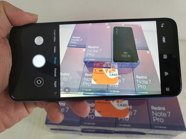 camera Redmi Note 7 Pro