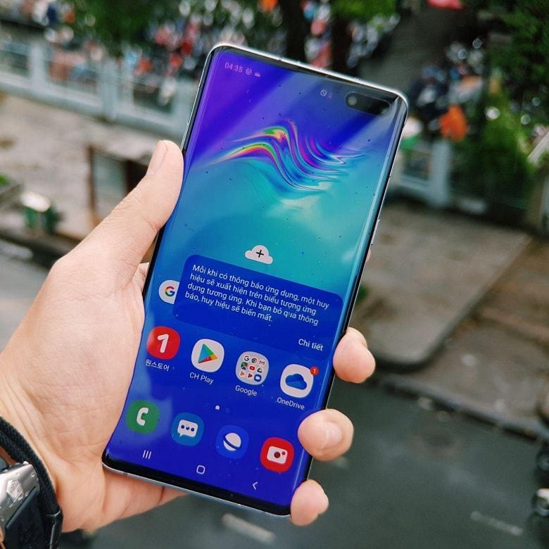 cấu hình của Samsung S10 5G