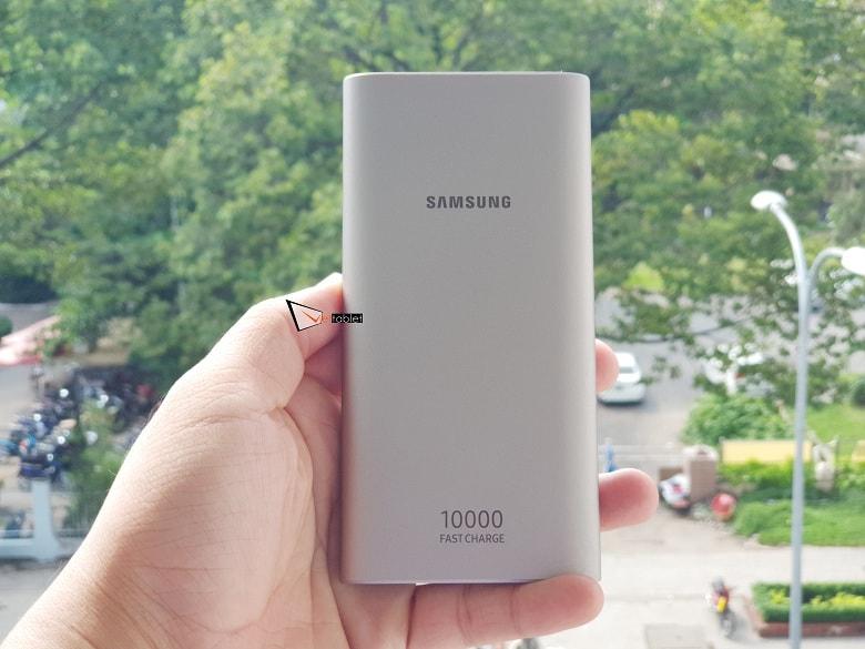 Trên tay pin dự phòng Samsung 10.000 mAh Type-C giá rẻ