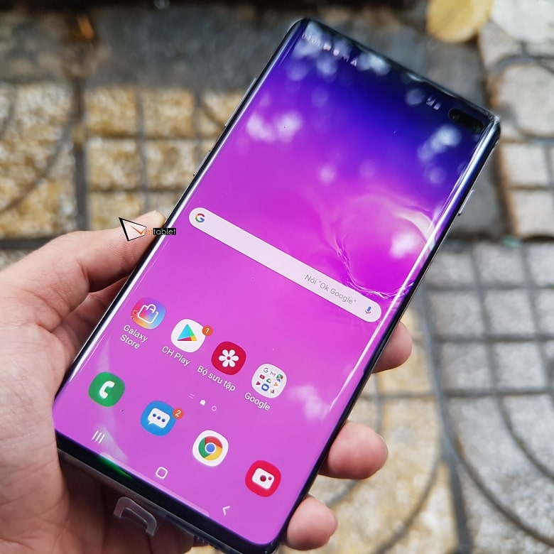 màn hình Samsung Galaxy S10 Plus Mỹ