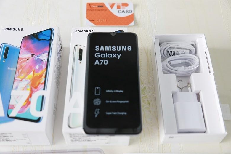 màn hình Samsung Galaxy A70 chính hãng