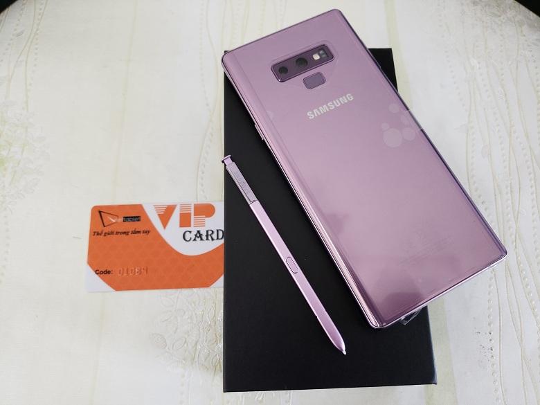 Thiết kế Galaxy Note 9 F