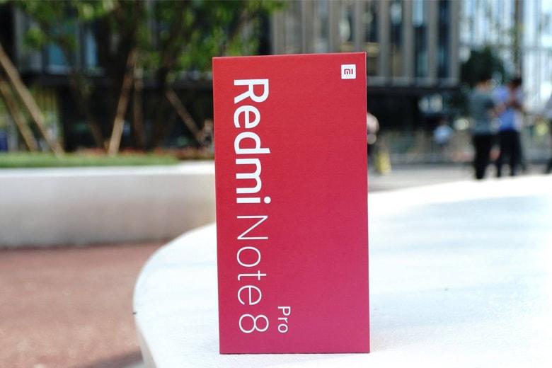 Đập hộp Xiaomi Redmi Note 8 Pro