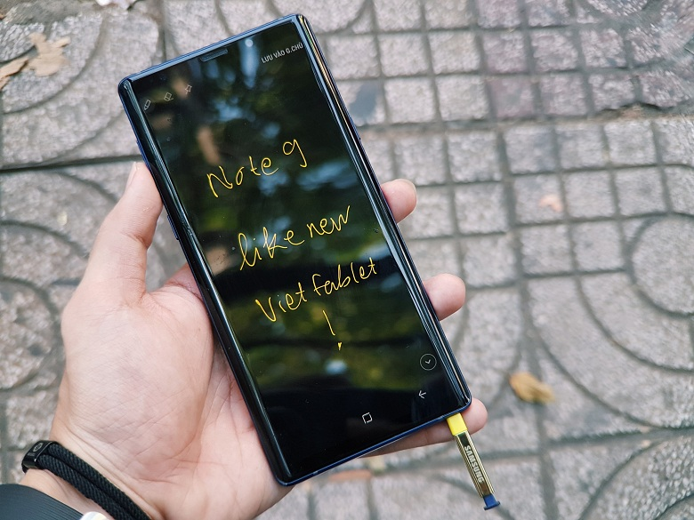 bút S-Pen của Galaxy Note 9 2 SIM