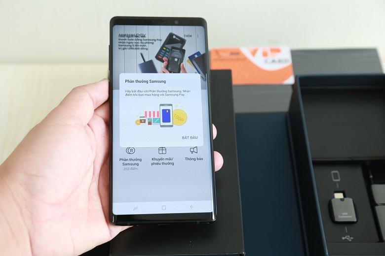 Samsung Pay trên Galaxy Note 9 công ty