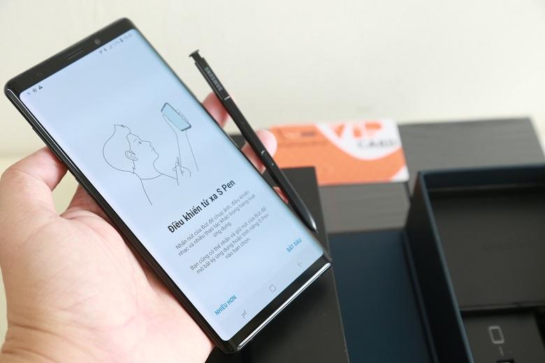 bút s-pen trên Galaxy Note 9 công ty trôi bảo hành