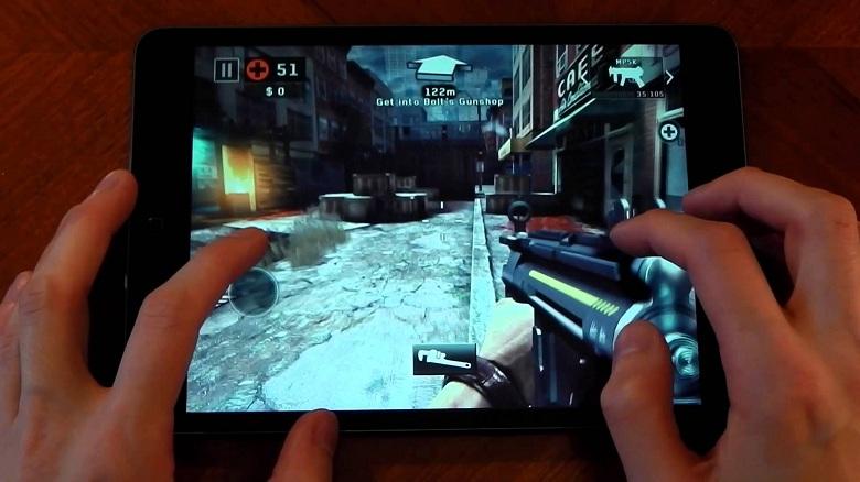 chơi game trên iPad Mini 2
