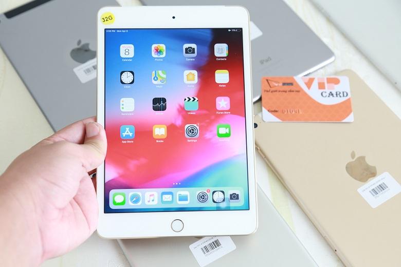 khả năng hiển thị của iPad Mini 4 32GB sắc nét