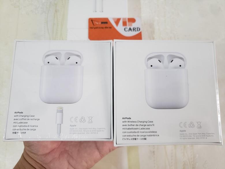 Tai nghe Bluetooth AirPods Apple 1 và 2