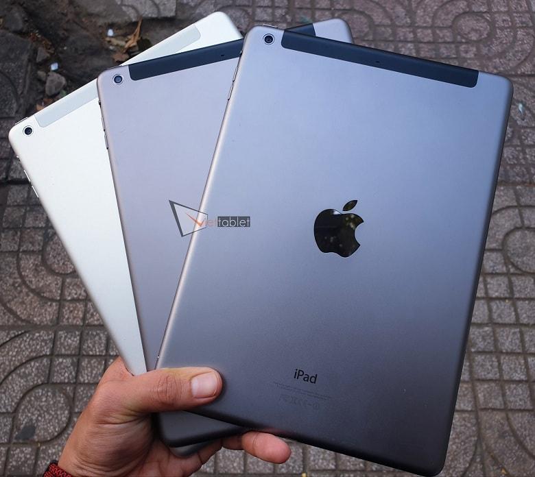 Mặt lưng iPad Air cũ tại Viettablet