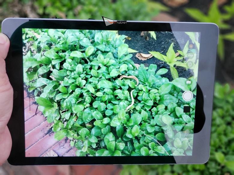 chụp ảnh trên iPad 9.7 inch (2018)