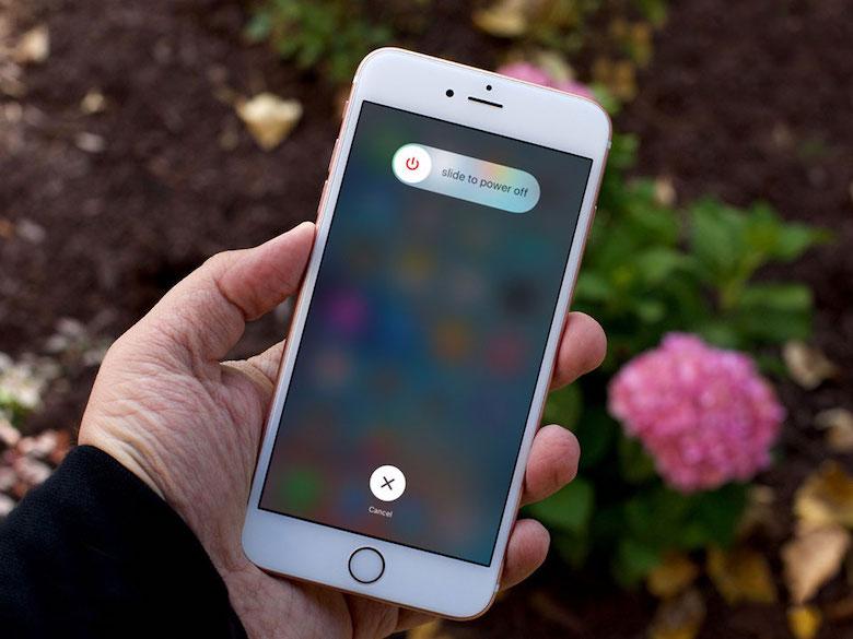 mẹo khởi động lại iphone