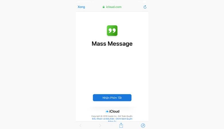 Tải Mass Message về máy