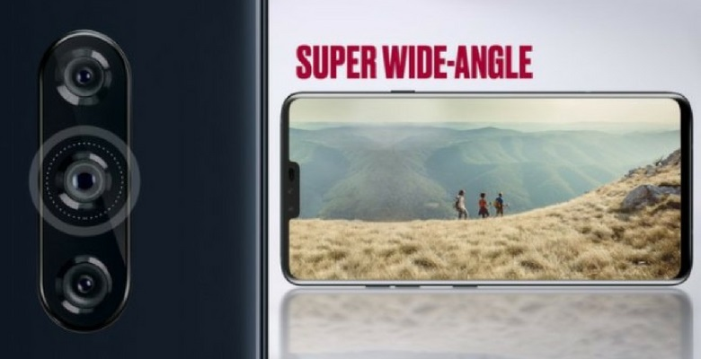 LG V40 ThinQ 5 camera ống kính tele