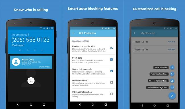 chặn tin nhắn cuộc gọi trên android