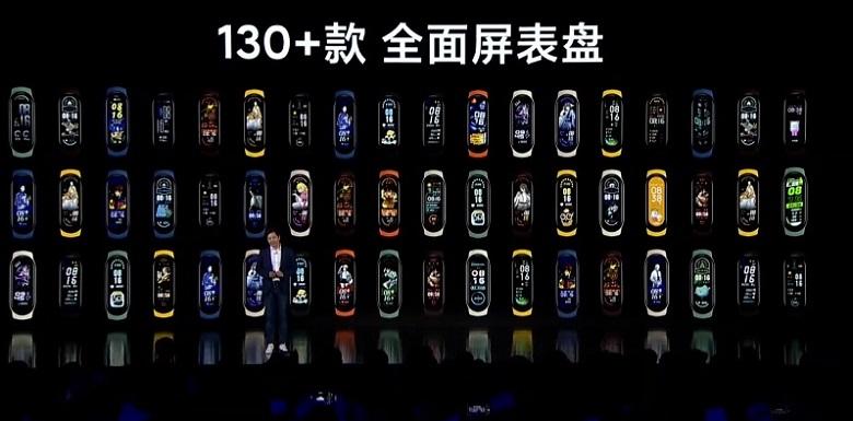 Xiaomi Mi Band 6 giao diện