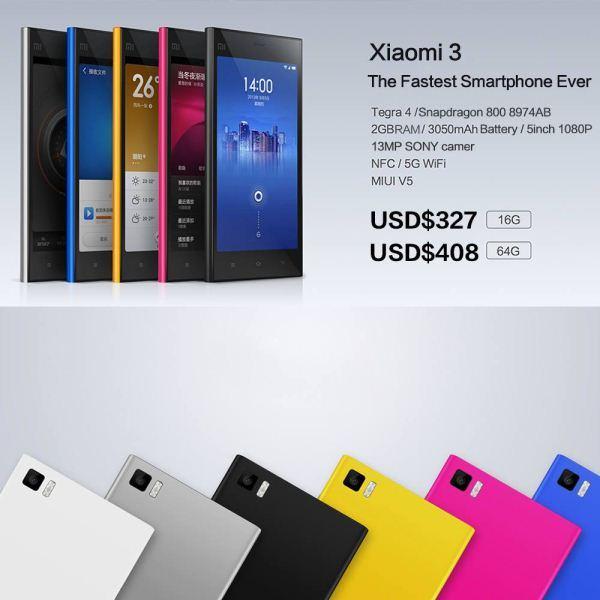 dien thoai Xiaomi MI3